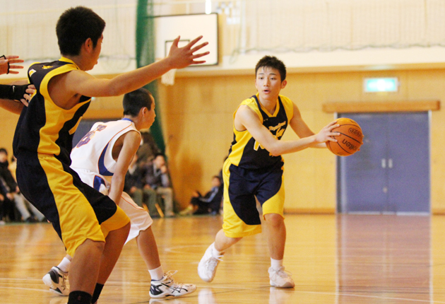 豊川市中学バスケ大会4強が決まる