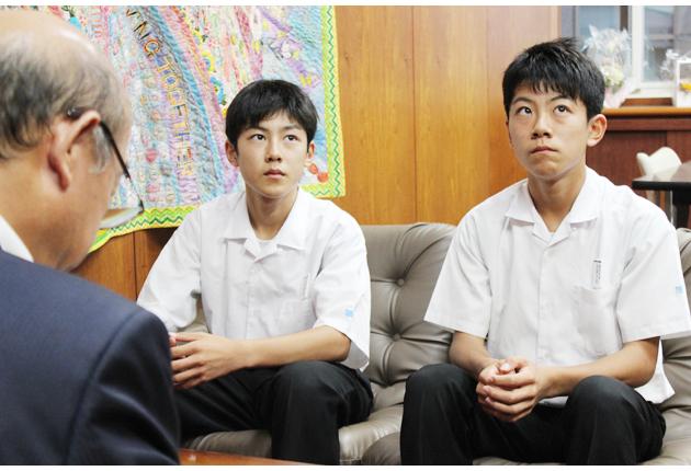 夢は世界を舞台に活躍を | 東日新聞