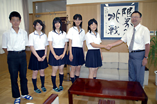 豊橋東高等学校制服画像